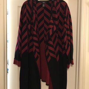 Alfani Woman Sweater Jacket Size 2X